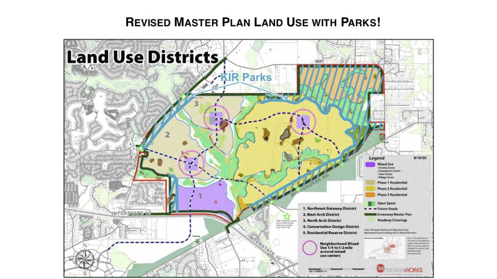 Keep It Rural - Welaunnee Arch Master Plan Map